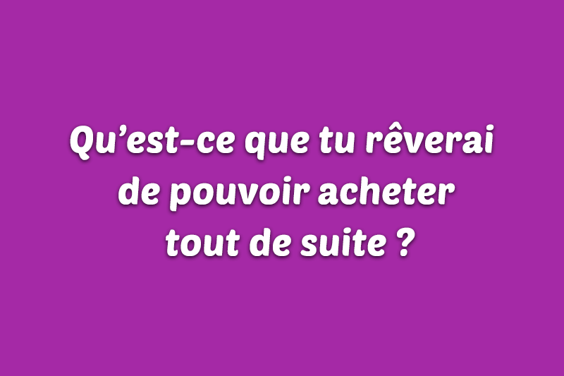 Idée de question à poser à distance